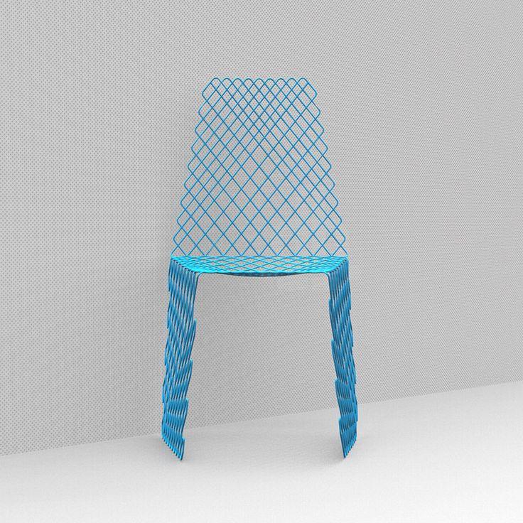 cetka chair by acid studio