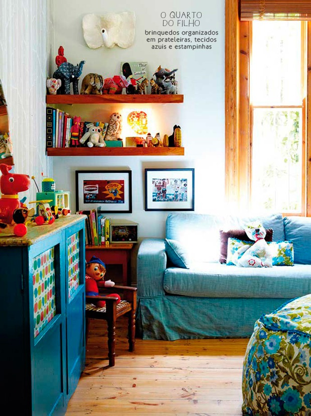 A children bedroom but organized.