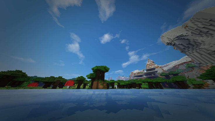 #clouds #destop wallpapers #evenecerpba #forest #game #hause #minecraft #mountains #sky #trees #wallpapers #water