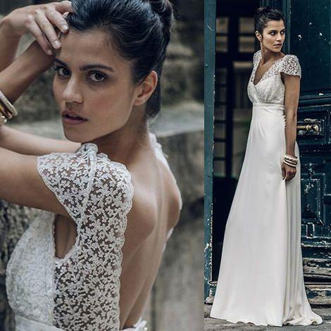 Robe de mariée Zola - Collection mariage 2016 Laure de Sagazan