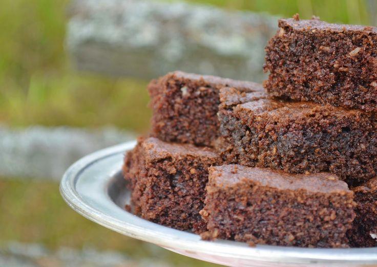 Troll a konyhámban: 20 perces csokis kókuszos kocka - paleo