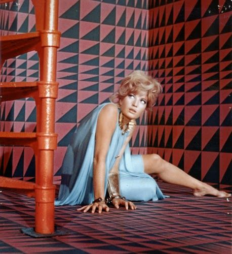 "Vintage Glamour Girls: Monica Vitti in "" Modesty Blaise """