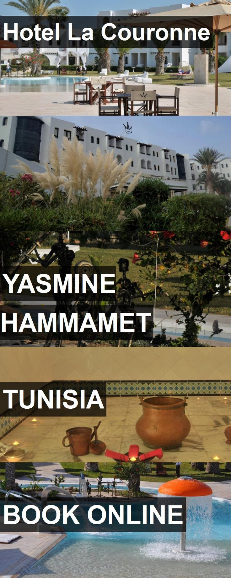 Hotel La Couronne in Yasmine Hammamet, Tunisia. For more information, photos, reviews and best prices please follow the link. #Tunisia #YasmineHammamet #travel #vacation #hotel