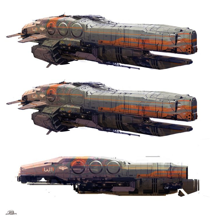 Sparth: Halo 4 ship design. from the Halo 4 pre-production. initially done around 2010.