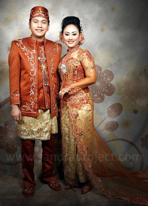 busana pengantin nasional