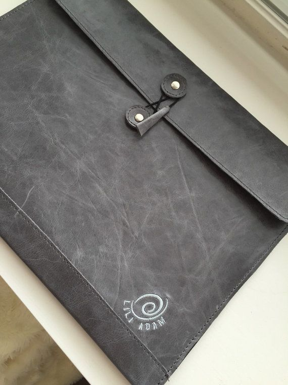 Leather Folder//A4 leather portfolio//student