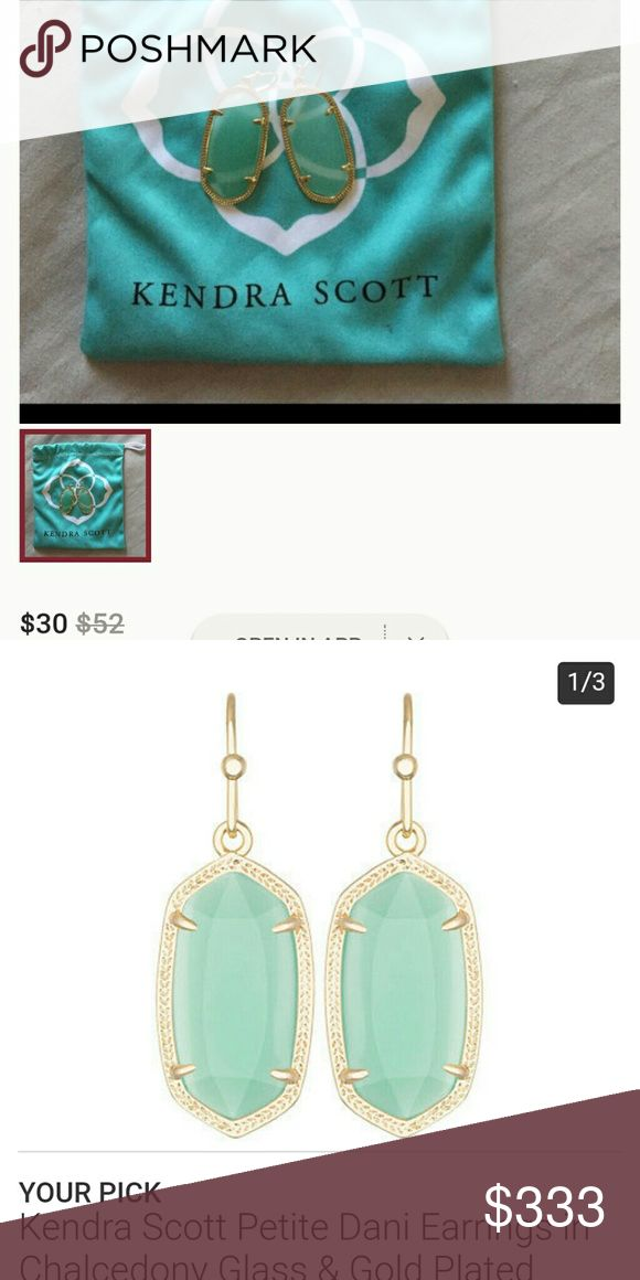 ISO Dani Chalcedony Earrings *not for sale $30 including shipping please, will purchase off posh considering fees. Good condition, lots of life left kinda thing but need not be perfect. Kendra Scott Jewelry Earrings