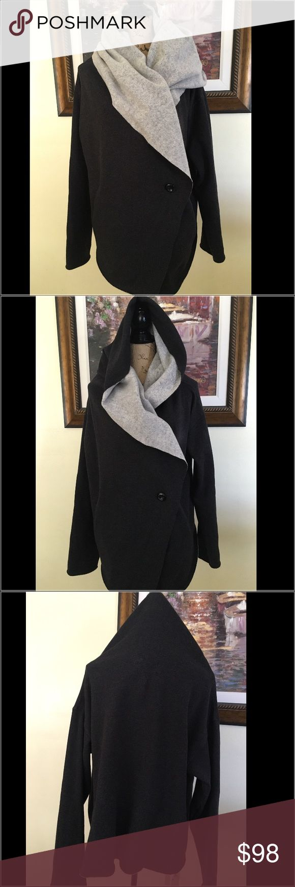 Walter Baker New York Heather Grey Cape/Sweater Walter Baker New York Heather Grey Cape/Sweater.  NWT.  Love the combo of colors charcoal and heather gray.  If I lived somewhere cold, this is what I would where.  Soft and comfortable. Walter Baker Jackets & Coats Capes