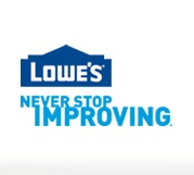 5 percent cashback from Lowe's using shop discover. Lowe's also offers free delivery. Your local Lowe's Delivery Team will install or hook up any major appliance you purchase online at the point of delivery. Please be aware that major appliance items include free-standing ranges, refrigerators and washers/dryers
