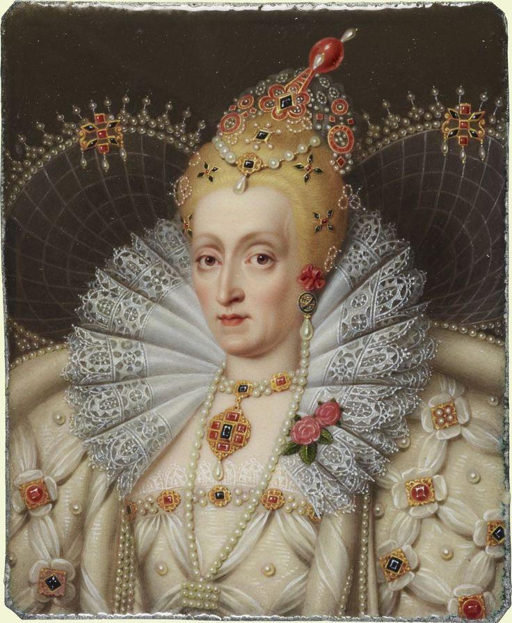 The Royal Collection: Elizabeth I (1533-1601) Creator: Henry Pierce Bone