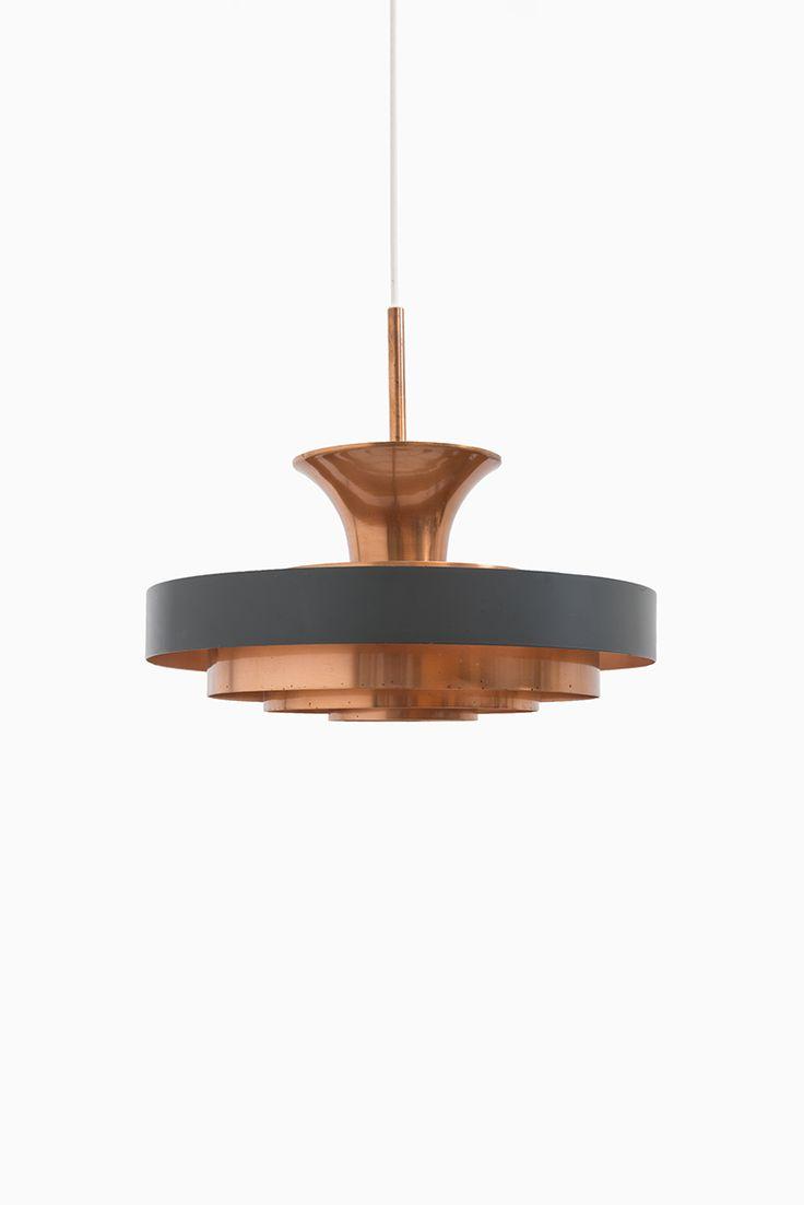 Mid century danish lighting in copper at Studio Schalling #midcentury #danish #design
