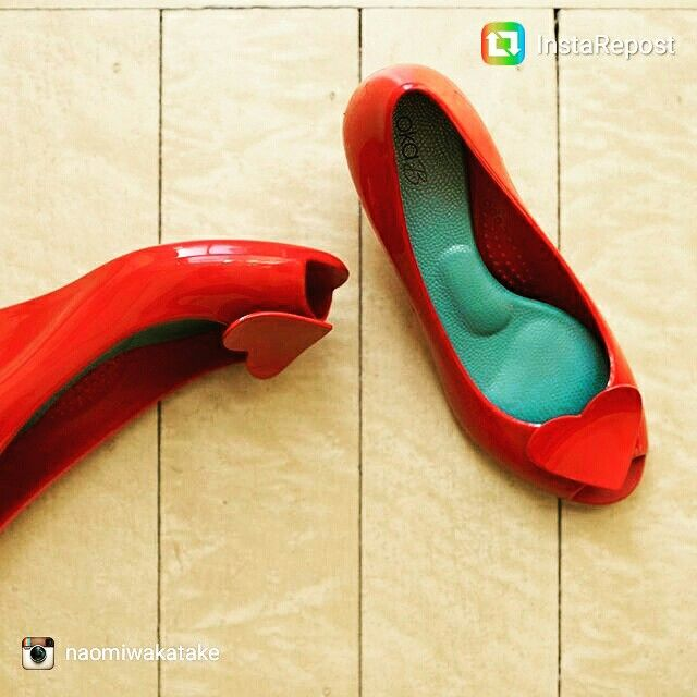Our landon cherry red wedges. Made with love ❤❤