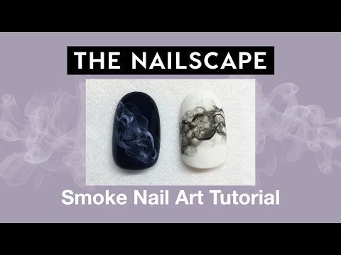 How-To: Smoke Nail Art - Nails Magazine