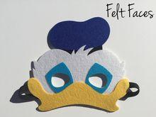Donald Duck Party Masks, Donald Duck Party Favors