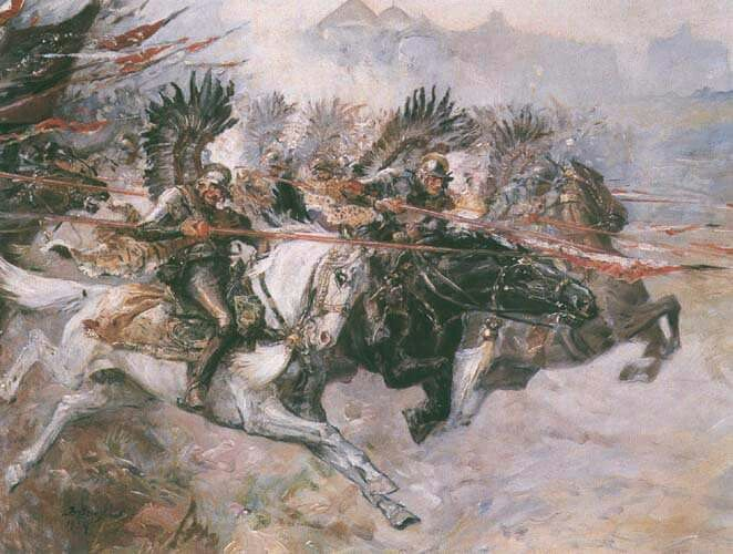 Winged Hussars, siege of Vienna, 1683.