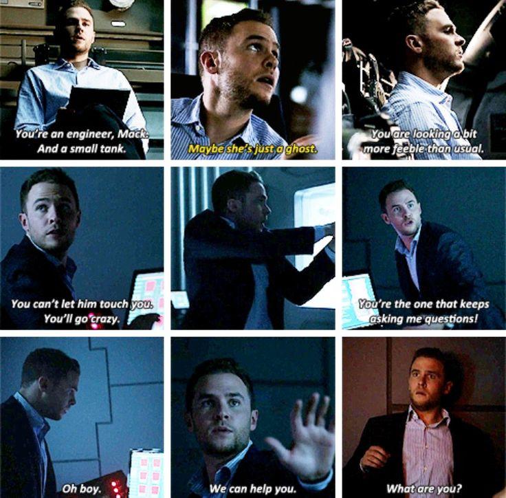 Marvel's Agents of S.H.I.E.L.D. Season 4 episode 2: Meet the New Boss. Fitz moments