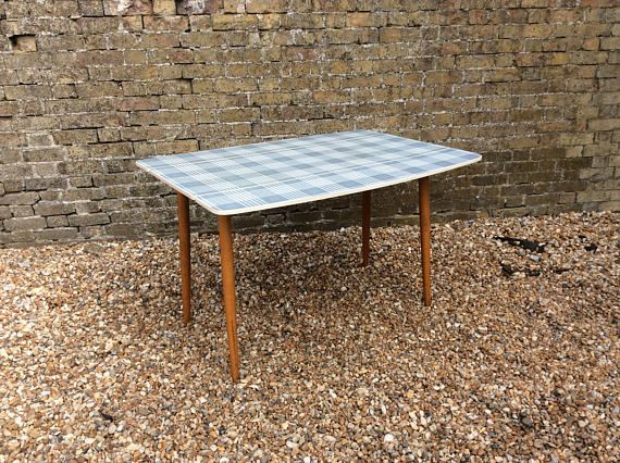 reserved for louise formica and beech drop leaf kitchen dining table blue grey extending kitchen table chequered formica retro table 53 best vintage midcentury dining furniture images on pinterest      rh   pinterest co uk
