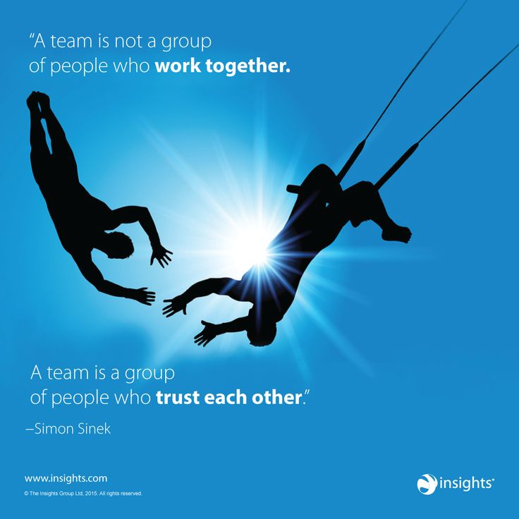 A great team quote from Simon Sinek...