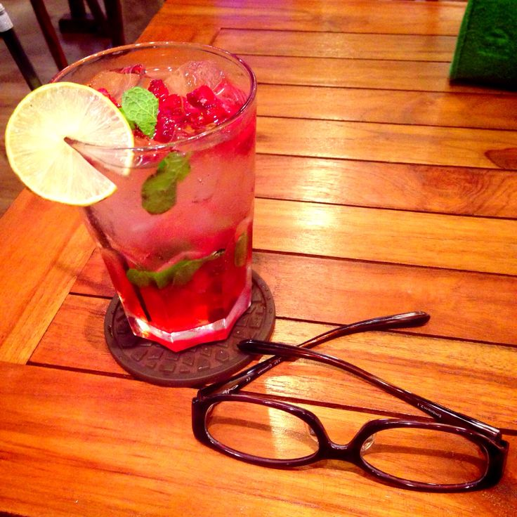 Glasses Journey with Strawberry Squash