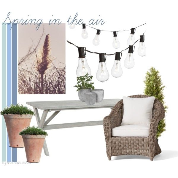 Inspiration by fargerertingen on Polyvore featuring interior, interiors, interior design, home, home decor, interior decorating, Pottery Barn and Crate and Barrel