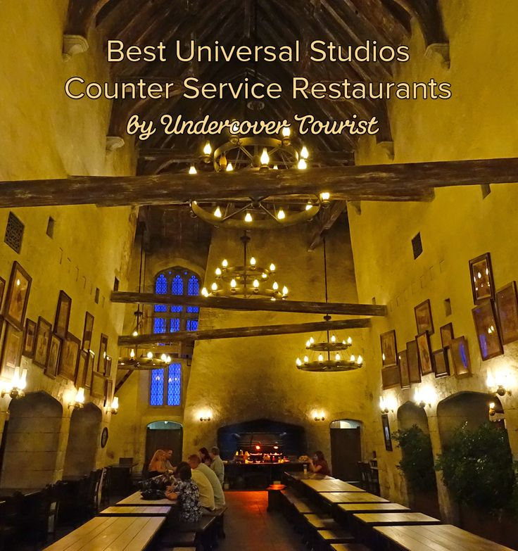 Undercover Tourist shares the best counter-service restaurants at Universal Orlando:
