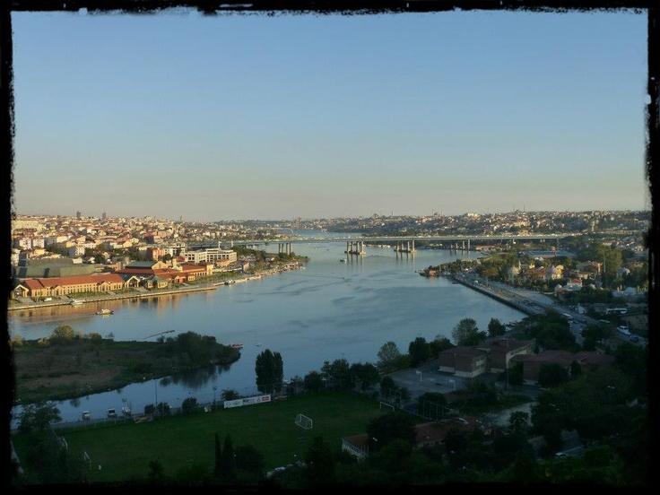 Istanbul wiew from Pierre Lotti caffe :)