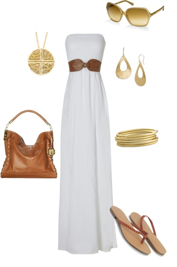 .Fashion, Summer Outfit, Clothing, Summer Style, Maxis Dresses, White Gold, Summer Night, The Dresses, Summer Maxis