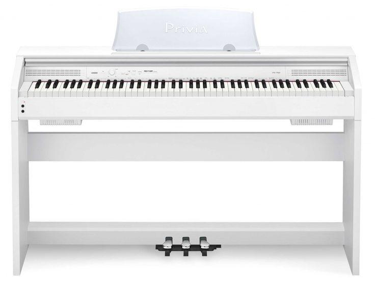 Цифровое пианино. Белое. <3