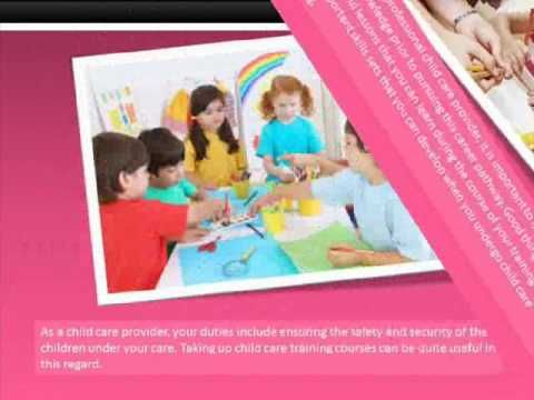 Benefits of Studying  Child Care Courses Perth - YouTube