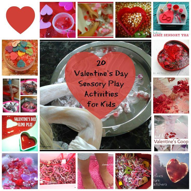 Lovely Bubbly Love Potion Play + 20 Valentine's Sensory Activities