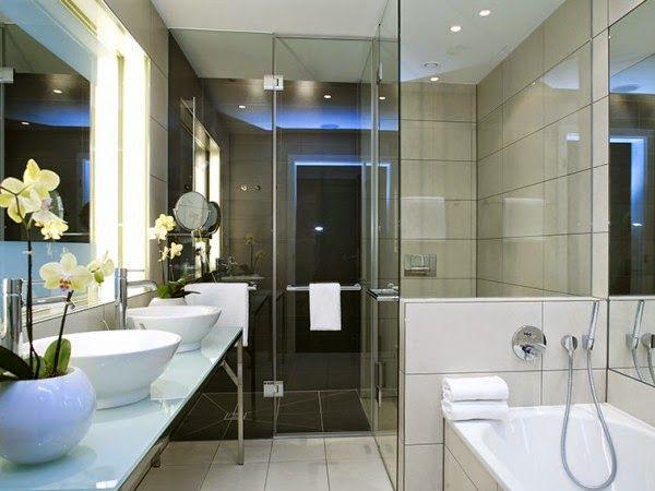small bathroom decorating ideas modern