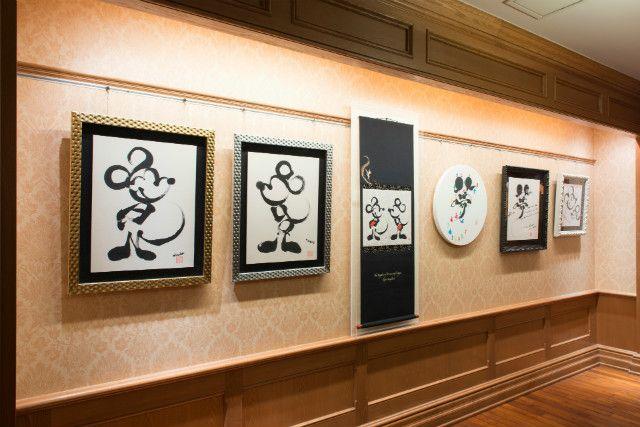 書家・國重友美とディズニーがコラボ!職人の技輝く掛け軸やキャンバスアートが数量限定で販売