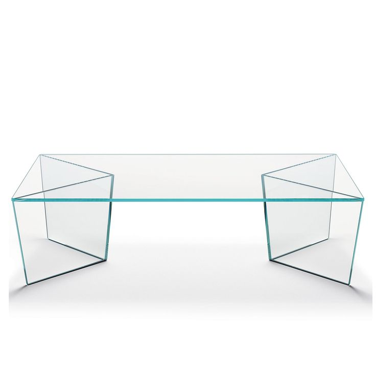 Mirage Rectangular Glass Coffee Table By Tonelli   Klarity