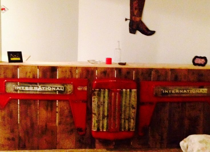 International Harvester Tractor Bar