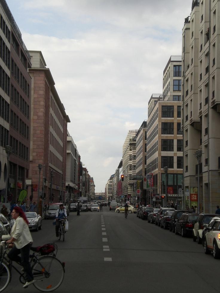 "Around ""Checkpoint Charlie"""
