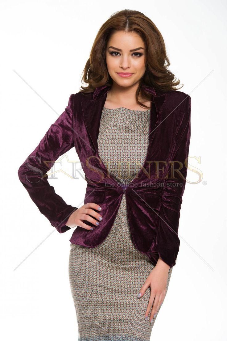 PrettyGirl Honeyed Purple Jacket