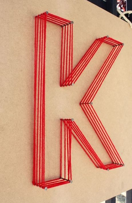 Top 10 Ideas Making String Art Letters