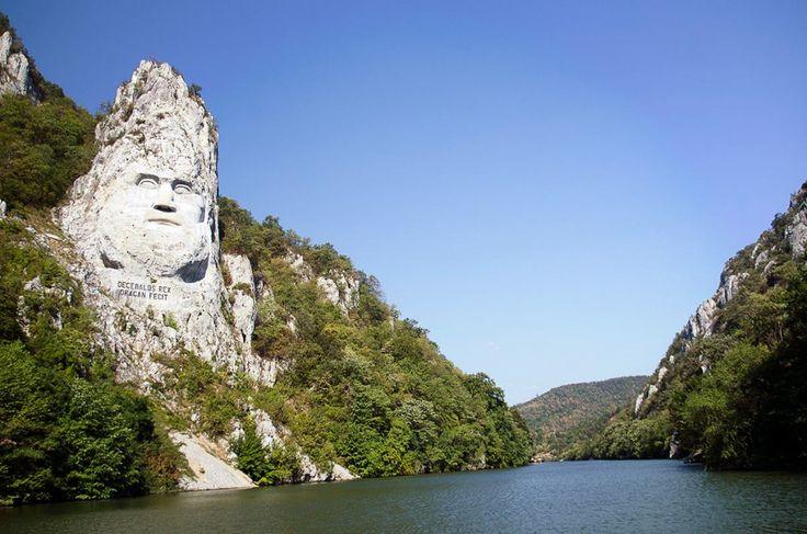 Statue of Decebalus, Romania