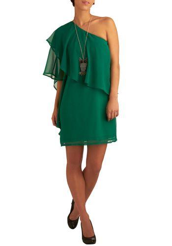 A Breath of Fresh Flair Dress: Shoulder Green, Retro Vintage Dresses, Green Dress, Mod Retro, Modcloth Com, Style Fashion