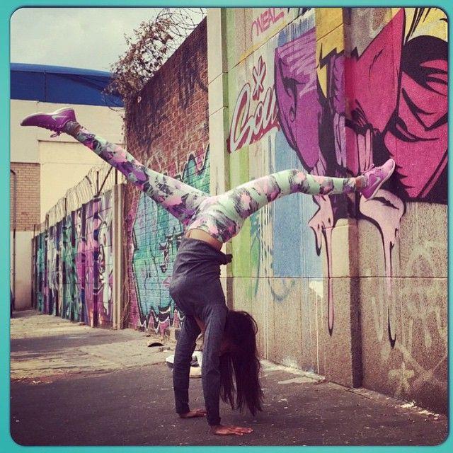 We love seeing happy clients @faheemaaa send us your pics wearing your Chloe Janes! #Regram #TalentedYogi #ChloeJane #PaintSplash