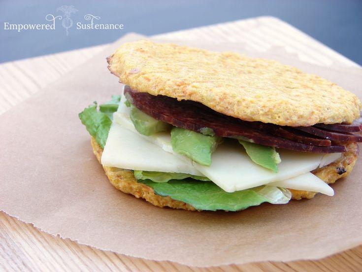 Paleo Sandwich Rounds (Dairy & Gluten-Free)