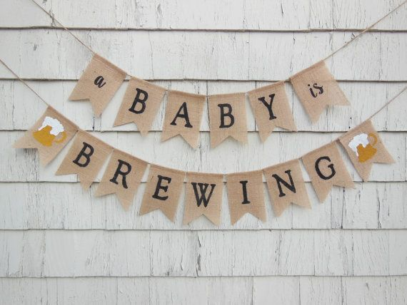 A Baby Is Brewing Baby Shower A Baby Is Brewing Banner Baby