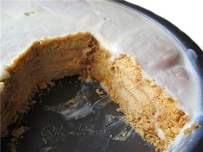 Торт из печенья (без выпечки)