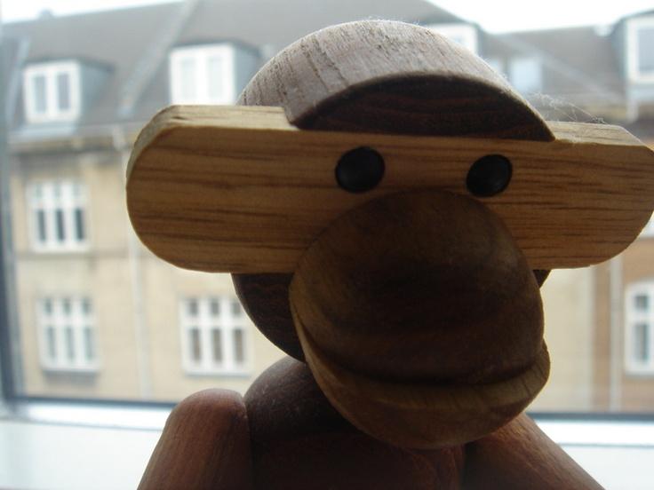Monkey by Kaj Bojesen, 1951: Vindustri Shelters, Kaj Bojesen