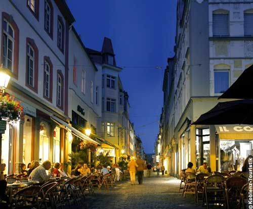 Firmungsstrasse in downtown Koblenz.