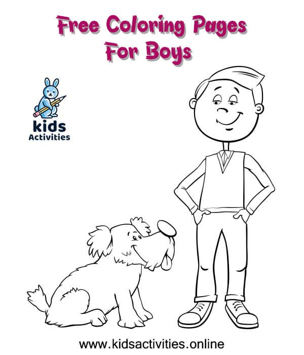 Free Printable Coloring Pages For Boys Kids Activities Coloring Pages For Boys Free Printable Coloring Pages Coloring Pages