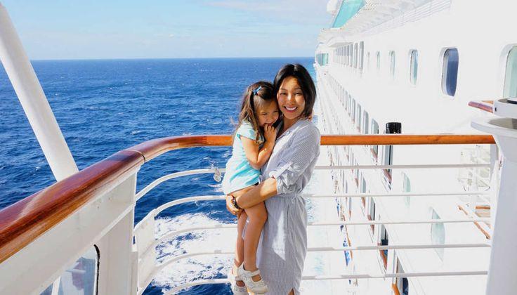 All aboard the bridge tour on the Sun Princess