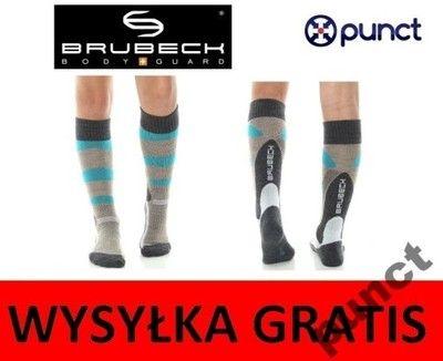 BRUBECK skarpety junior narciarskie SKI 33-35
