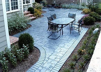Stamped Concrete, Slate  Concrete Patios  AMCON, LLC  Gaithersburg, MD