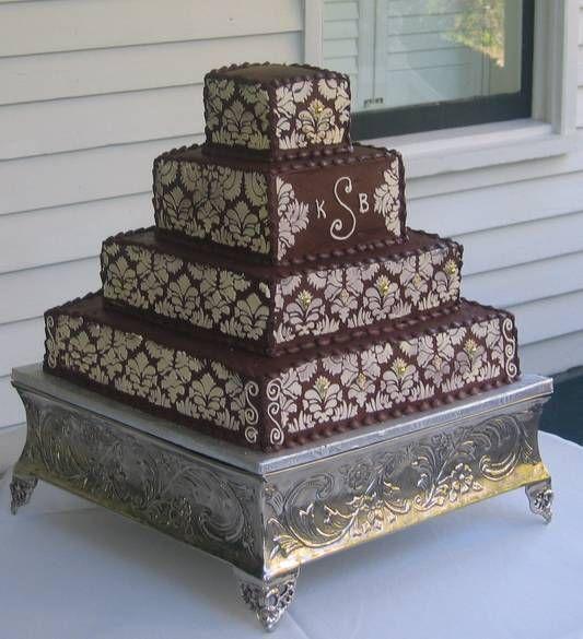 Дамасский шоколадный торт
